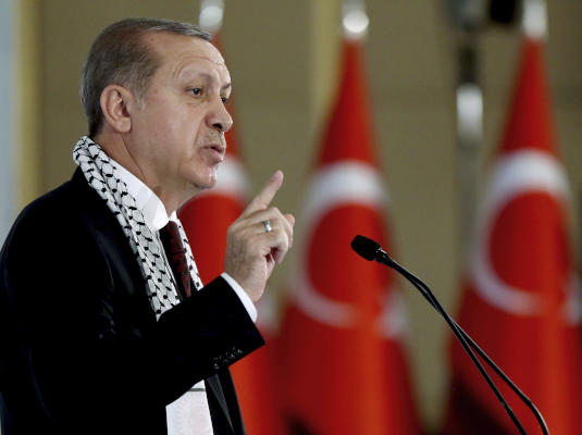 Erdogan: We Do Not Have Our Eyes on Syrian Soil