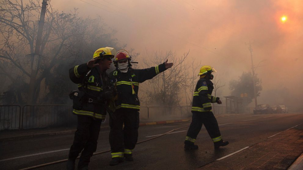 Israel Fire Crisis Eases, Arabs Arrested on Suspicion of Arson