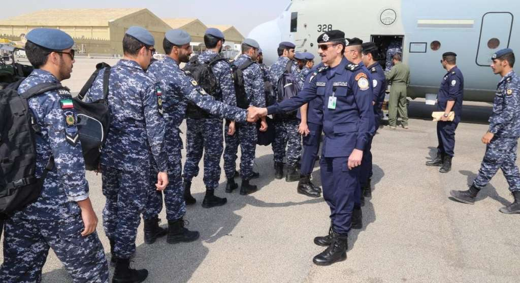 'Arab Gulf Security 1' Exercise Concludes First Week