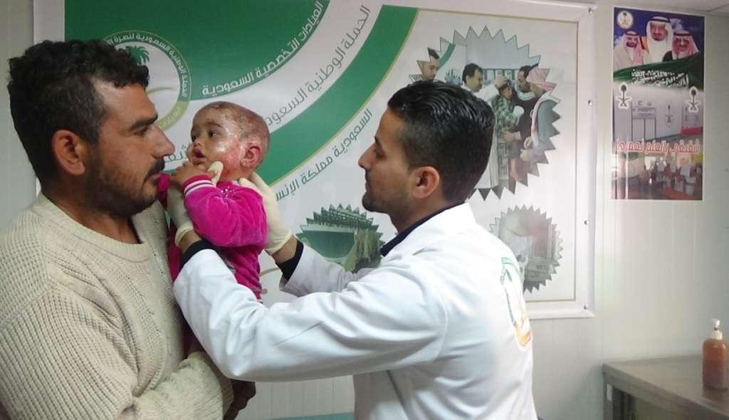 Saudi Medical Clinics Provide Treatment for 12,000 Syrians in Jordan