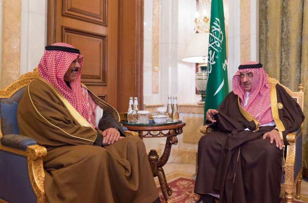 Saudi Crown Prince Discusses Security Developments with Kuwaiti Minister of Interior