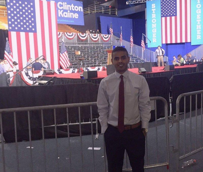 Saudi Student Participates in Clinton's Presidential Campaign
