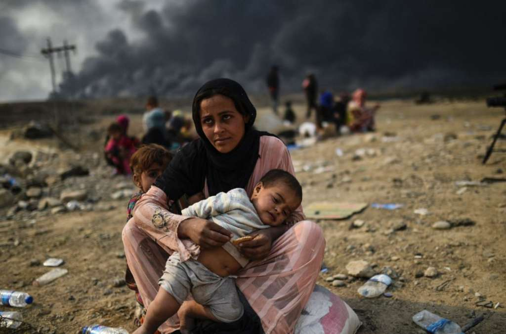 Mosul's Escapees: A Living Hell