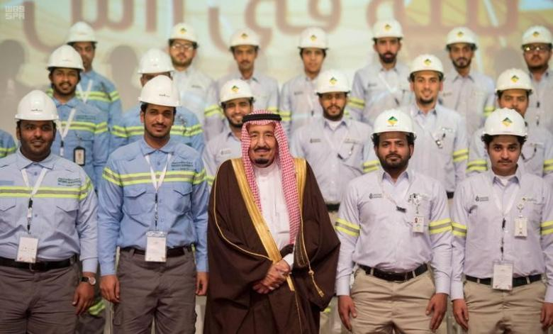 Custodian of the Two Holy Mosques Inaugurates USD34 Billion Projects at Ras Al-Khair