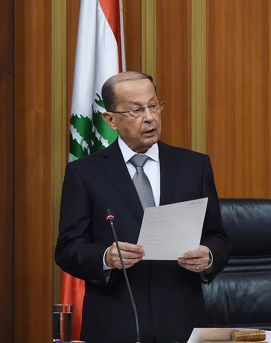 After 890 Days…'The General' Becomes Lebanon's President