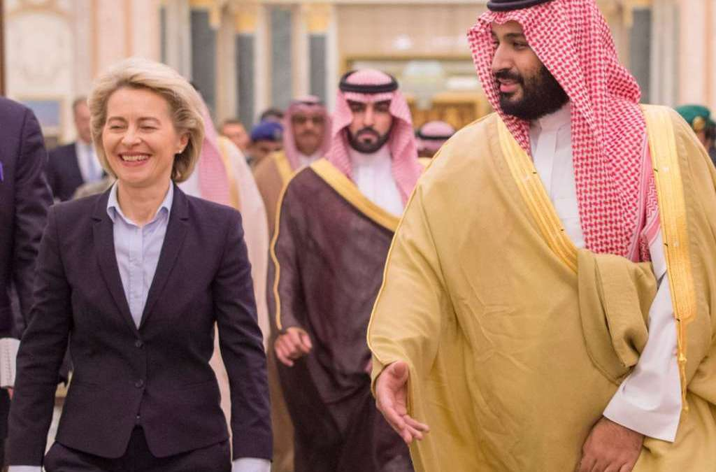 Saudi Deputy Crown Prince, German Defense Minister Talk over Regional Developments