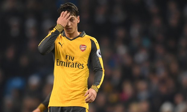 Mesut Özil, the Ghost in Arsenal's Machine, Picks Bad Time for Wan game