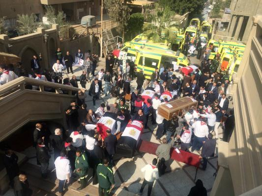 Suicide Bomber Responsible for Egypt Church Attack