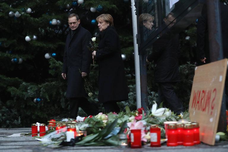 Berlin Attack Poses Toughest Test in Merkel's 11 Years in Power