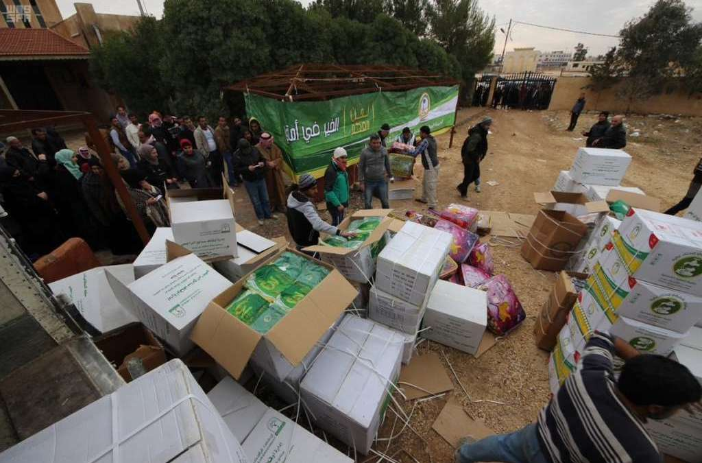 Saudi Arabia Delivers Winter Clothing for 3,185 Syrians in Jordan