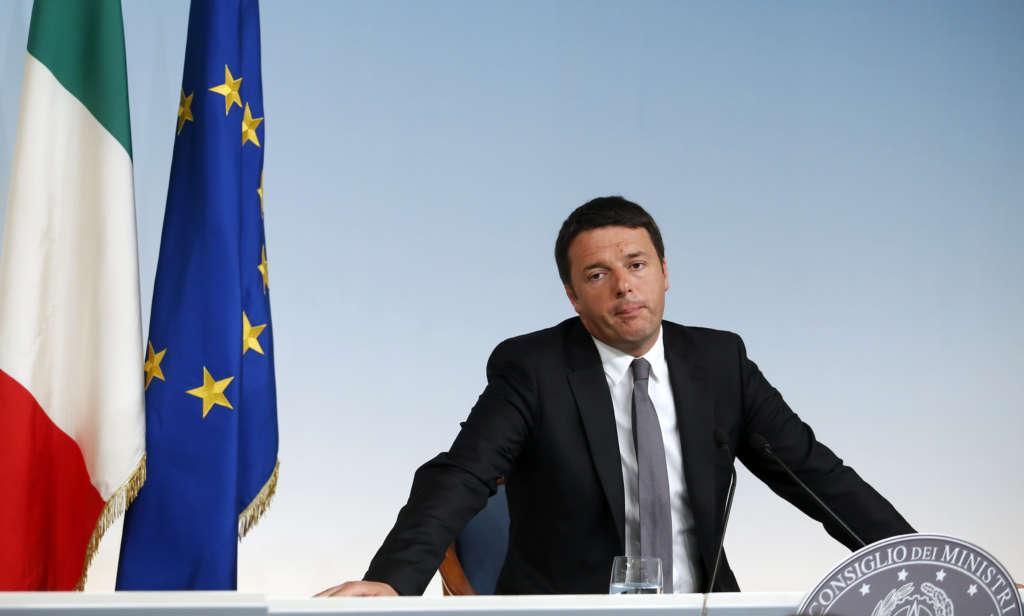 Following Cameron's Footsteps…Renzi Risks Political Future