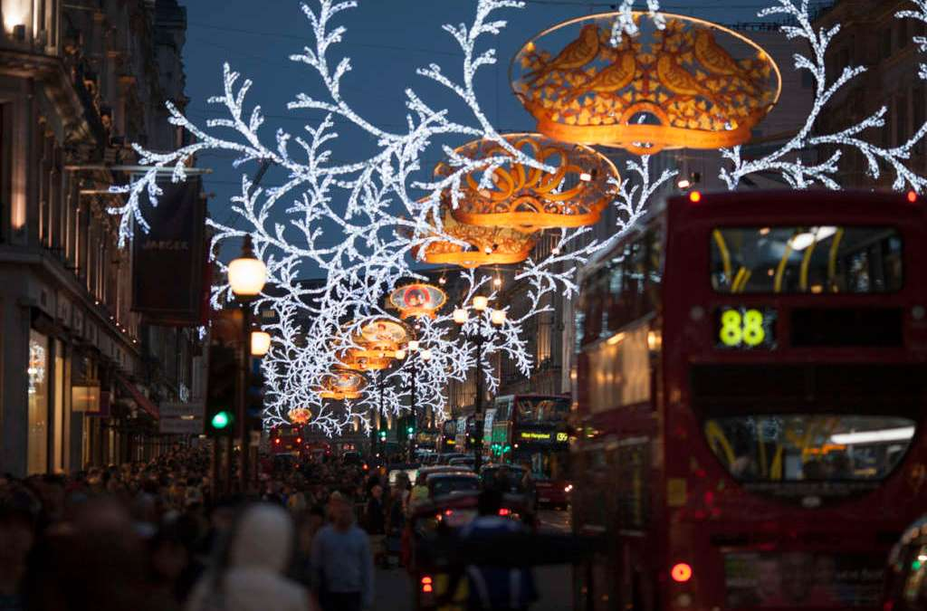 London Celebrates Holidays with Music Shows, Shopping, Fireworks