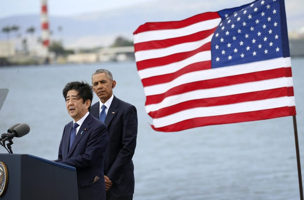 Abe, Obama Announce 'Alliance of Hope' at Pearl Harbor