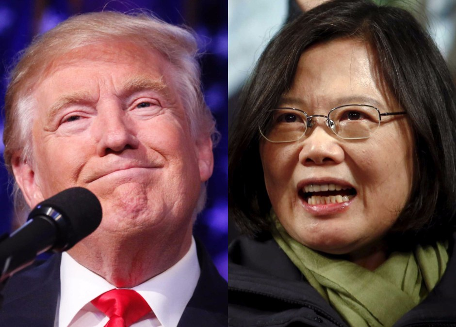 After Complimenting Taiwan, Chinese Newspapers Compete to Criticize Trump