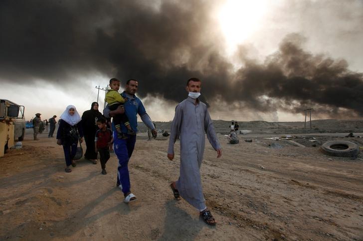 Mosul Civilians Fear Cold, Hunger of Winter Siege