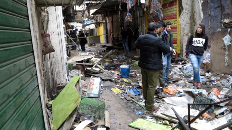 Twin Bombs Kill at Least 28 in Central Baghdad