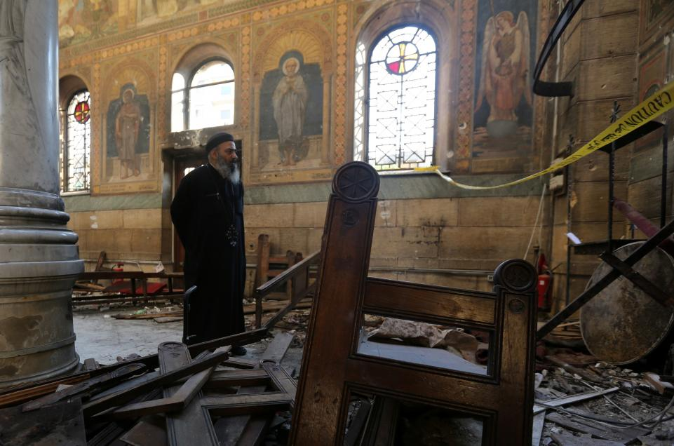 Arab, International Solidarity with Cairo in the Wake of Church Bombing