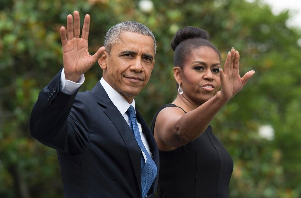 Obama Says he'll 'Sleep for Couple of Weeks,' Michelle won't Run for White House
