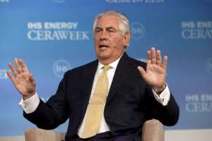 Exxon Mobil Chairman and CEO Rex Tillerson. Reuters