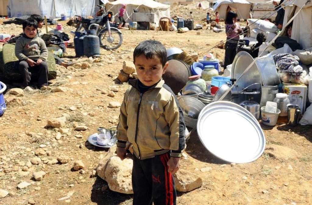 Floods Sweep Syrian Refugee Encampments in Lebanon's Arsal