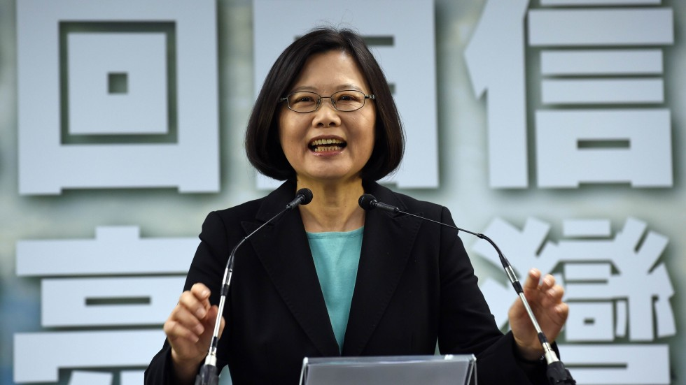 China Lodges Protest over Trump Taiwan Call