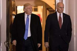 President-elect Donald Trump met with retired Marine Corps Gen. John Kelly on Nov. 20 at Bedminster Township,