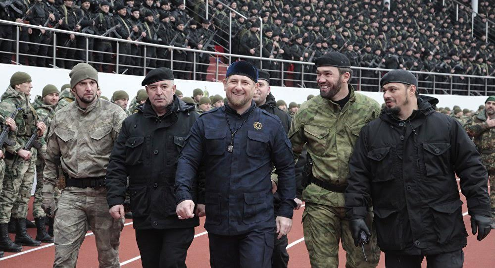 Reports: Russia Sent Chechen Forces to Syria with Claim to Protect Hmeimim Base