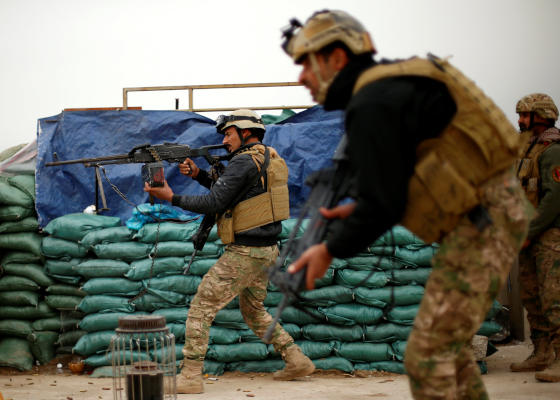 Exchanging Fire across The Tigris, Iraq
