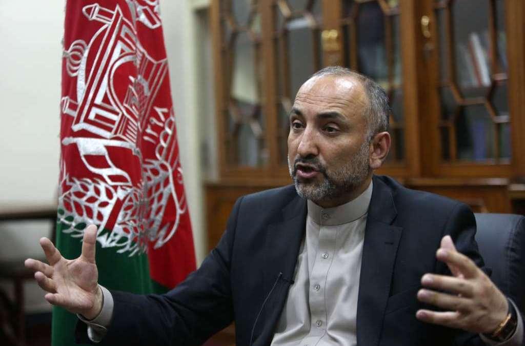 Atmar: 'We Fear ISIS Militants Fleeing to Afghanistan's Borders'