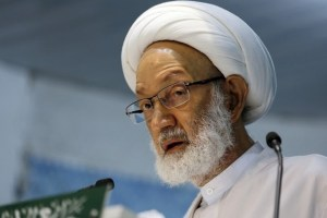 Sheikh Isa Qassim. Hasan Jamali