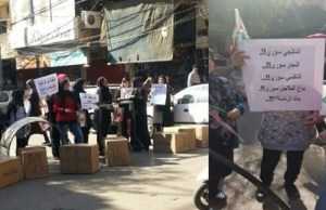 Protests in Lebanon Complain of Syrian Labor Competition