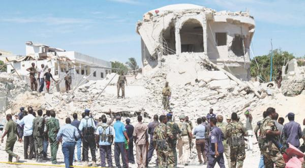 Al-Shabaab Claims Responsibility For Suicide Attacks in Somalia