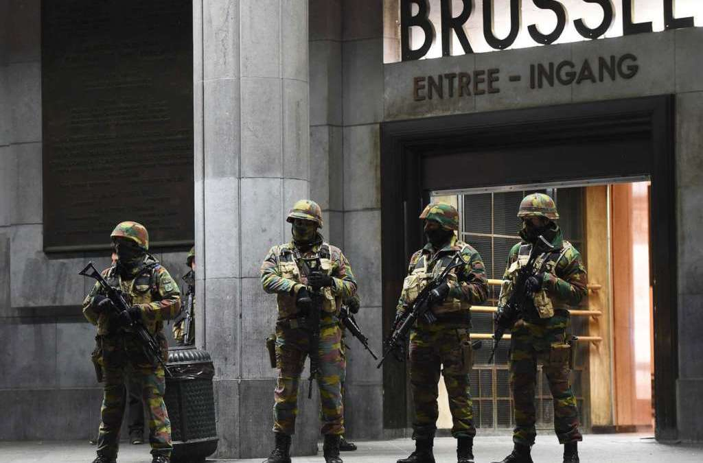 7 Suspects Held after Brussels Counter-terror Raids
