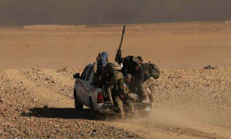 Iraqi Forces Battle ISIS near Tigris River in Mosul