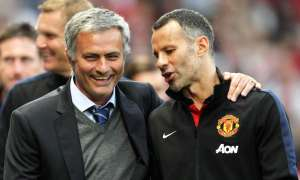 Ryan Giggs with José Mourinho, then Chelsea's manager, in 2013. Three years later the Portuguese got the Manchester United job instead of the Welshman. Photograph: Matt West/Matt West/BPI/Rex/