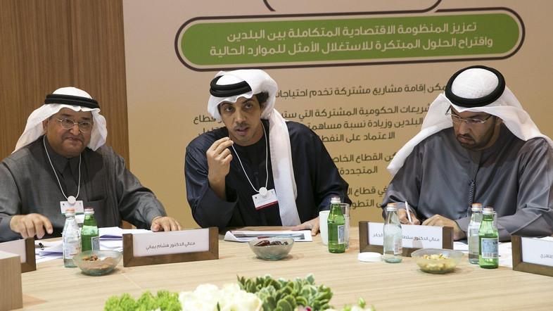 Saudi-UAE Coordination Council Meeting Kicks Off in Abu-Dhabi