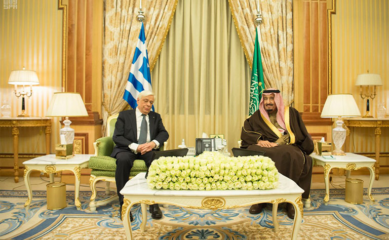 Saudi-Greek Summit in Riyadh to Discuss Regional Situation