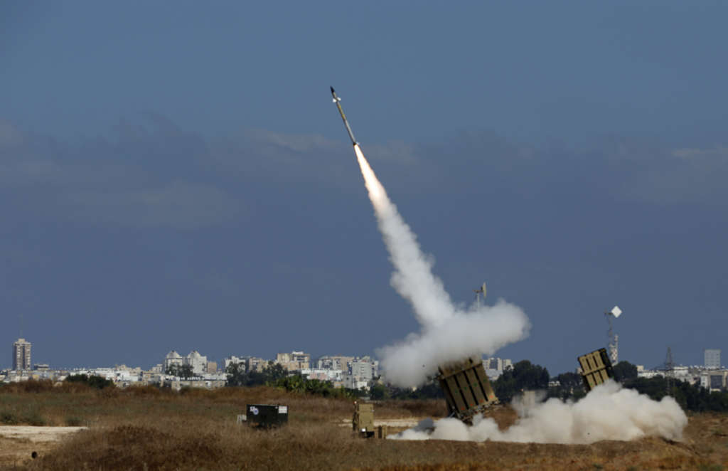 Israel's Iron Dome Intercepts Volley of Rockets Targeting Eilat