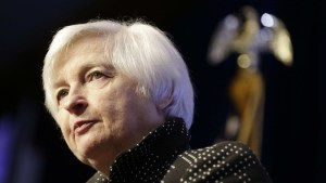 U.S. Federal Reserve Chairwoman Janet Yellen/Reuters