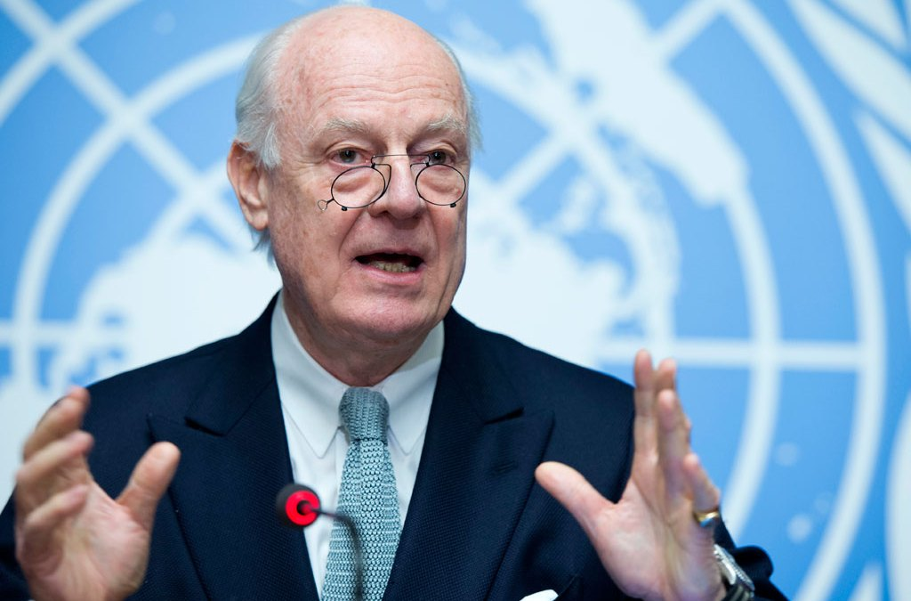 Syrian Opposition Denounces Staffan De Mistura's Warnings
