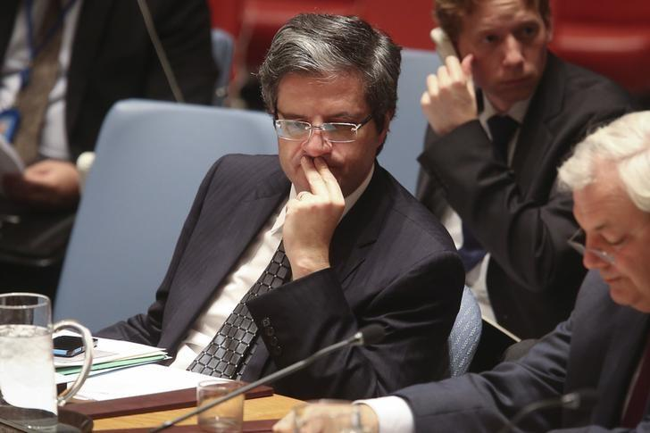 French U.N. Ambassador Urges Punitive Measures against Syrian Regime for Usage of Chemical Weapons