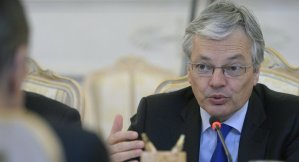 Belgian Minister of Foreign Affairs Didier Reynders. AFP