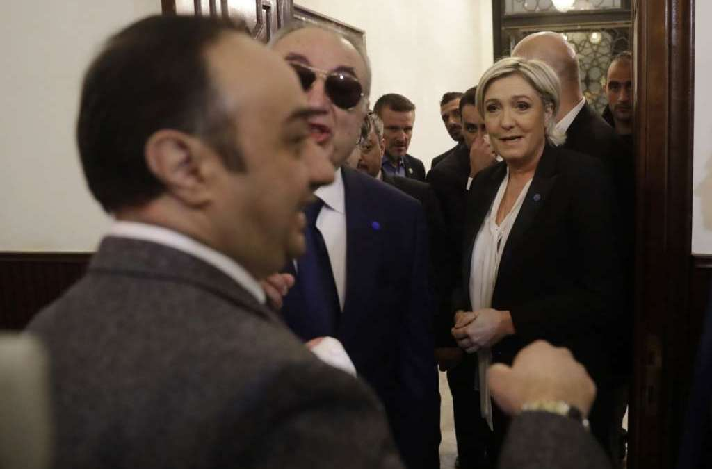 Lebanon: Meeting between Grand Mufti, Le Pen Cancelled as She Refused to Wear Headscarf