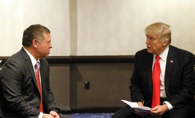 King Abdullah II Meets with U.S. President