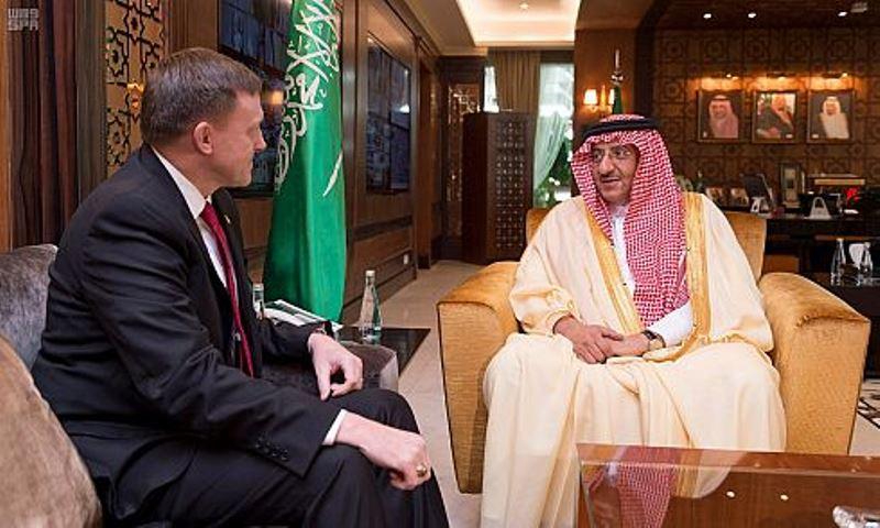 Saudi Crown Prince Receives NSA Director