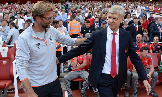 Klopp Joins Wenger under Microscope as Liverpool and Arsenal Collide