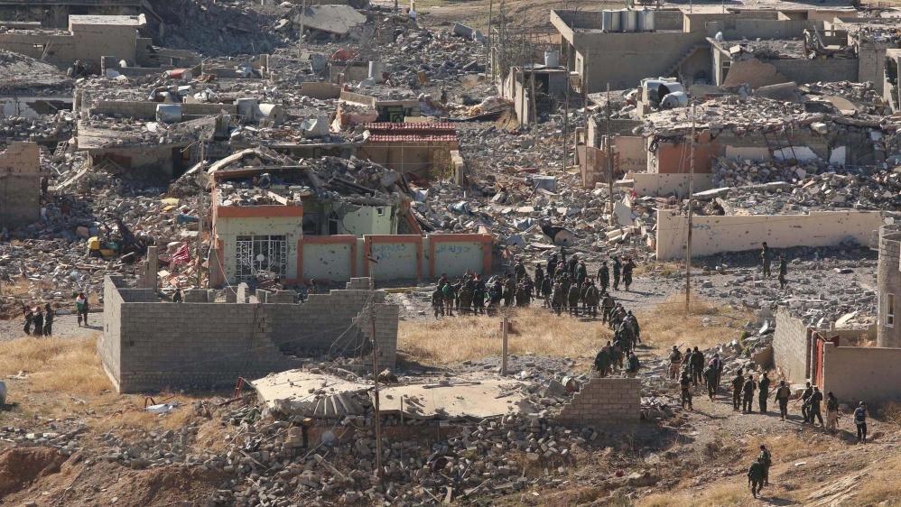 Kurdish Rivals Clash in Sinjar, Iraq