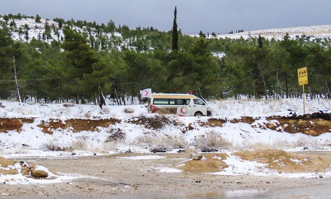 UN Probe: Syrian Regime Bombed Damascus Water Source