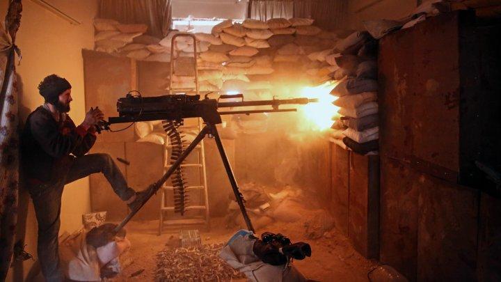 Escalation in Damascus, Hama Suburbs on Eve of Geneva Talks