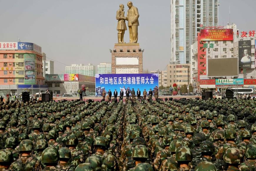 ISIS Issues Unprecedented Threat in China
